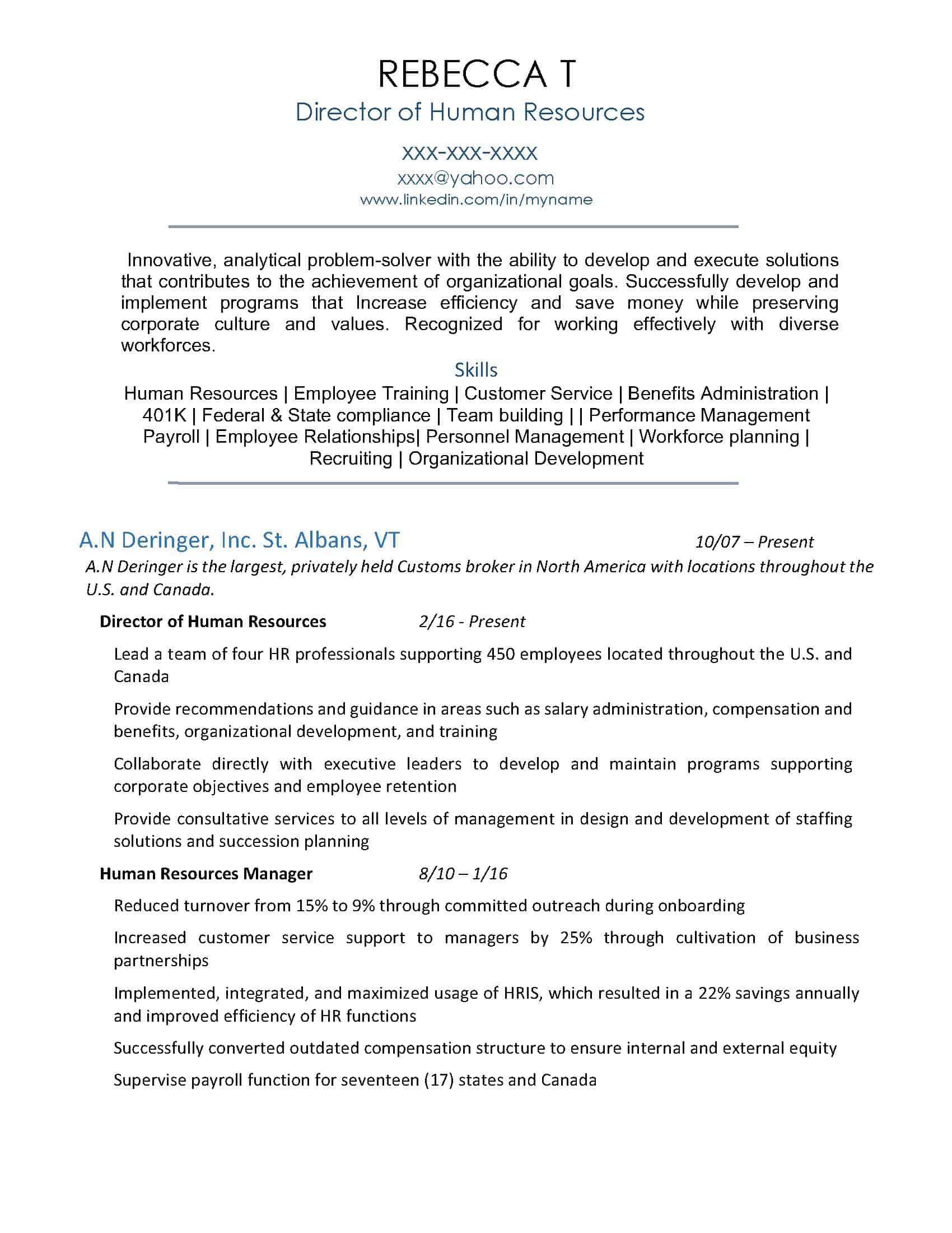 *HR Manager Resume Sample_Page_1